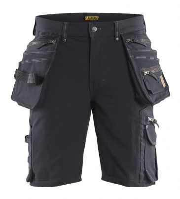 Blaklader 1988 Craftsman Shorts 4-way Stretch X1900 (Dark Grey/Black)